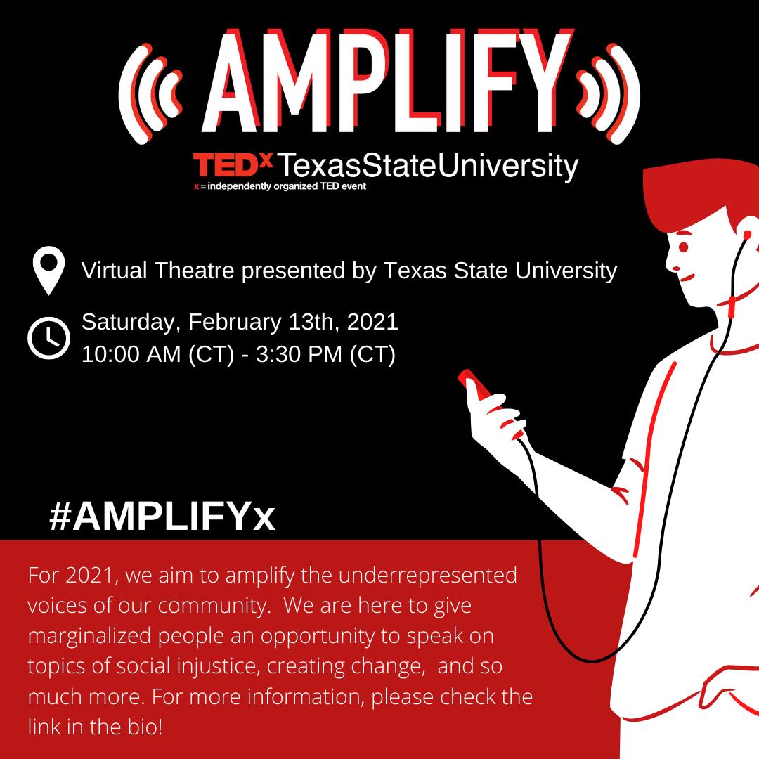 #AmplifyX